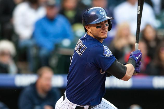 Rockies Star Troy Tulowitzki Playing It Safe by Taking Some Days off