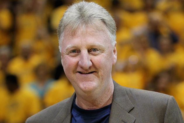 Pacers: Larry Bird Pops Up and Praises the Team