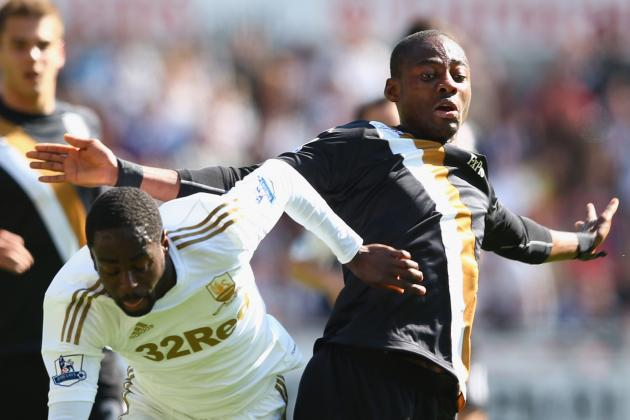 Clinical Fulham Hit Three at Swansea