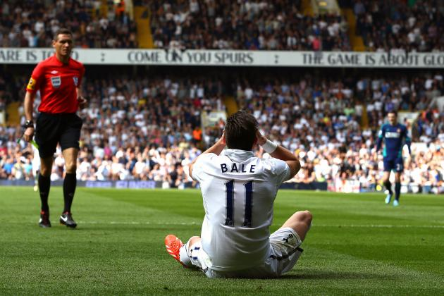 Premier League Final Day: See Gareth Bale, Laurent Koscielny Goals in Top-4 Race