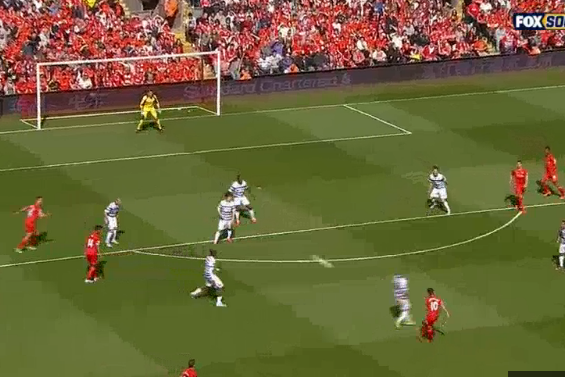 Coutinhos Long-Range Shot Gives Liverpool 1-0 Lead