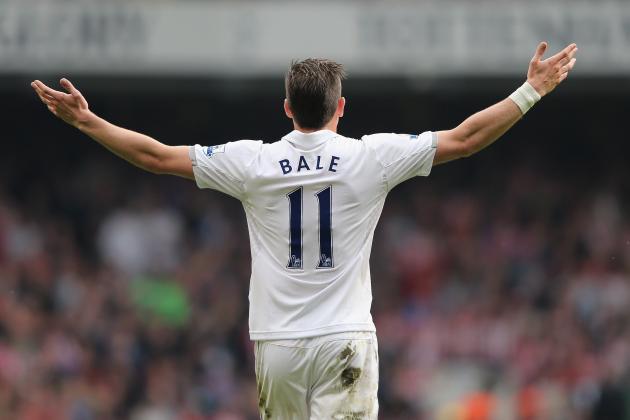 Bales Wonder Strike Puts Tottenham Ahead