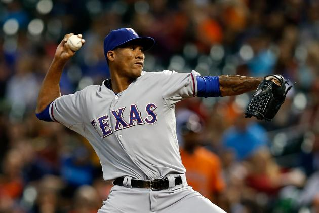 Texas Rangers: Injured Pitcher Alexi Ogando Angers Team