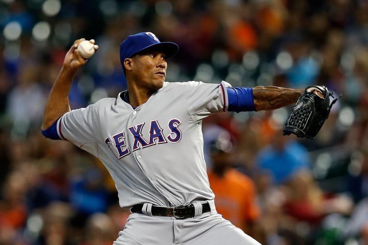 Texas Rangers: Injured Pitcher Alexi Ogando Angers Team