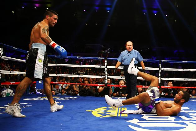 Lucas Matthysse Knocked Out Lamont Peterson Saturday Night