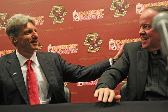 Boston College Nears Completion of 2013-14 Non-Conference Schedule