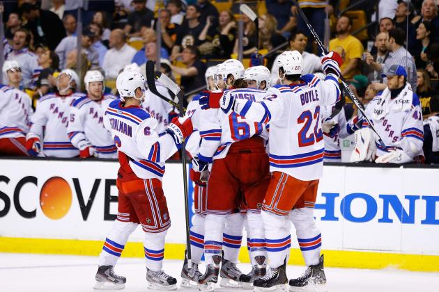 New York Rangers vs. Boston Bruins: GameCast