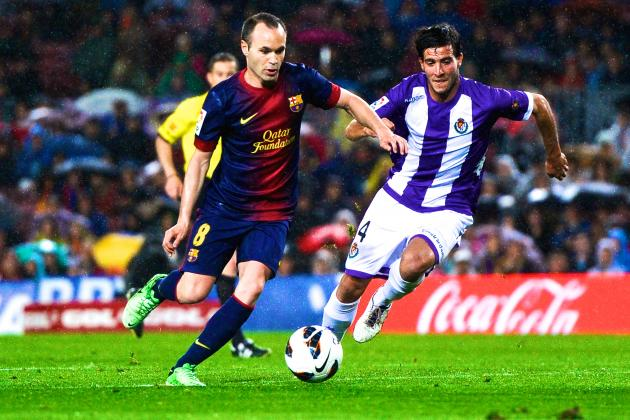 Barcelona vs. Real Valladolid: La Liga Live Score, Highlights and Recap