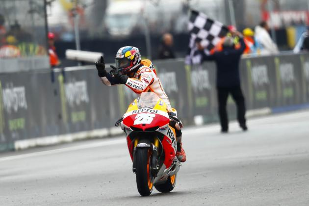 MotoGP: Dani Pedrosa Takes Convincing Victory in Le Mans, Cal Crutchlow Second