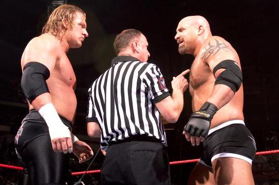Goldberg Lashes out Against WWE and Triple H on Twitter