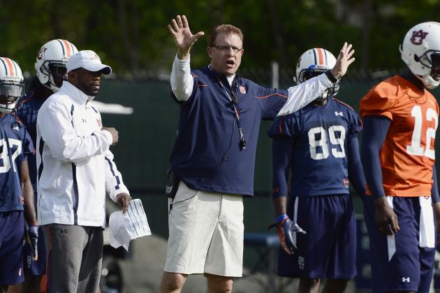 Auburn Football: What Will Gus Malzahn's Biggest Challenges Be in Year 1?