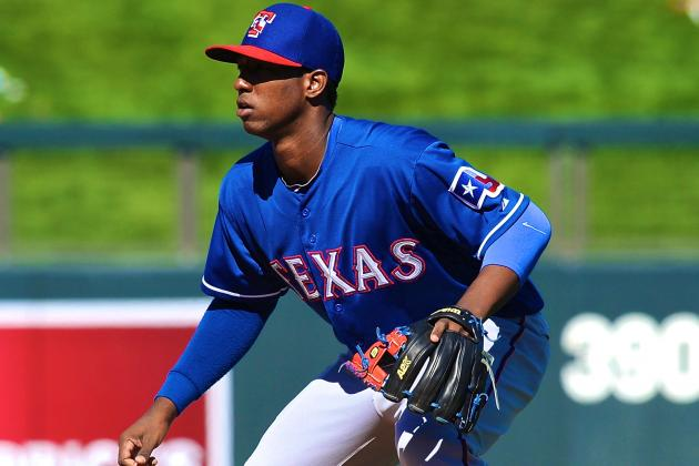 Top Prospect Jurickson Profar Called Up by Texas Rangers