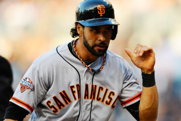 Angel Pagan Leaves vs. Rockies with the Flu