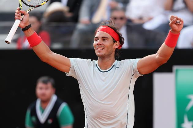 Rafael Nadal vs. Roger Federer: Rafa's Convincing Win Ups Ante at French Open