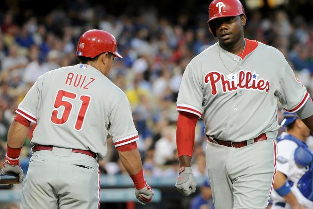 Carlos Ruiz, Ryan Howard Will Undergo MRIs on Monday