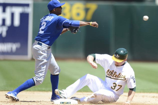 Athletics 4, Royals 3