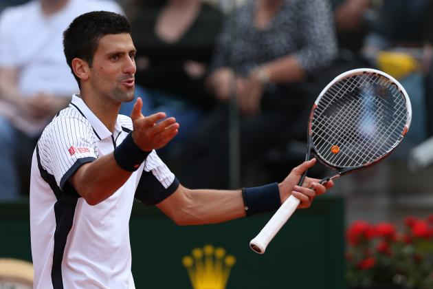 Novak Djokovic's Recent Inconsistencies Make Him the X-Factor at French Open