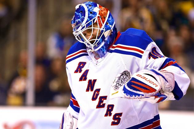 Why New York Rangers Need Perfection from Henrik Lundqvist to Survive 2nd Round