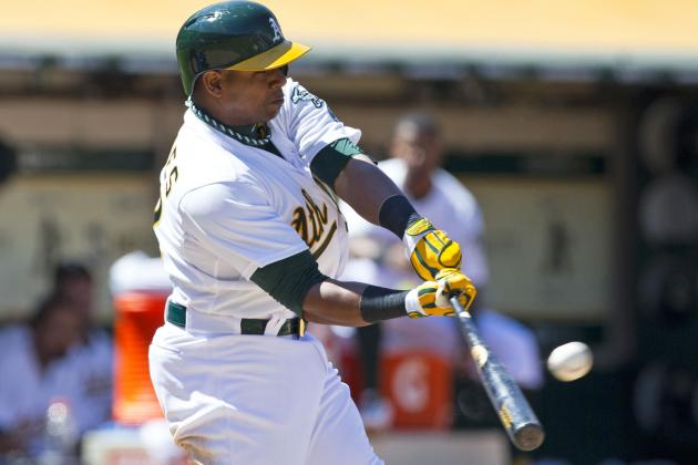 Cespedes' Homer in 8th Gives A's Sweep of Royals