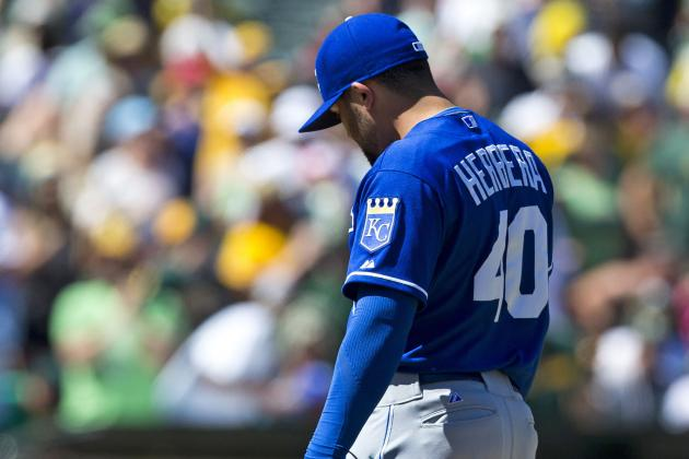 Ned Yost 'probably' Will Shift Kelvin Herrera out of Eighth-Inning Role