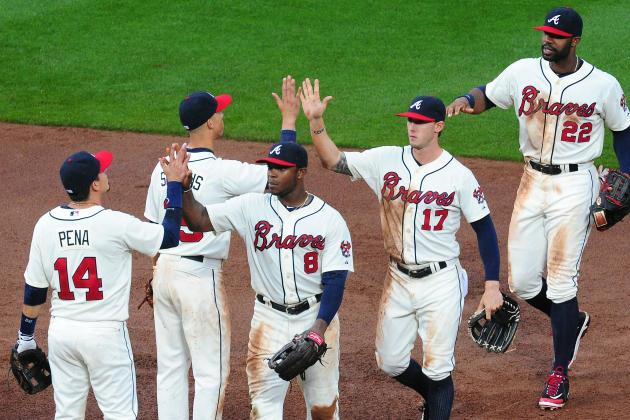 Braves Use Small-Ball Rally to Complete Sweep of Dodgers