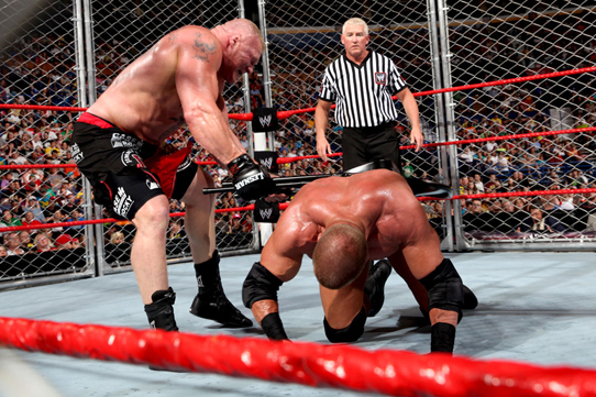 WWE Extreme Rules 2013 Results: Brock Lesnar Beats Triple H and What It Means