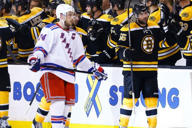 Bruins Get Total Team Effort, Go Up 2-0 on Rangers