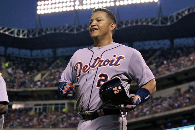 Miguel Cabrera Clubs 3 Home Runs as Rangers Defeat Tigers 11-8