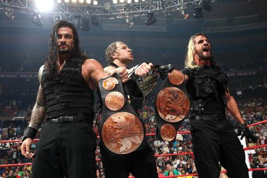 WWE Extreme Rules 2013 Belonged to the Shield
