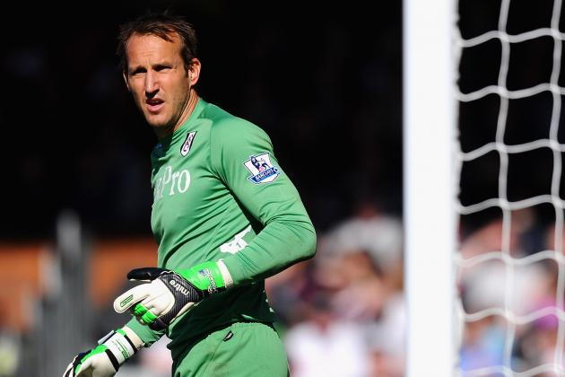 Premier League: Fulham Wait on Goalkeepers Mark Schwarzer and David Stockdale