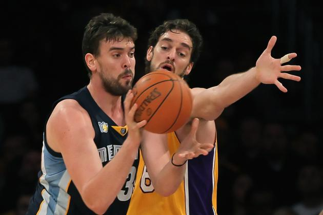 Grizzlies GM Compares Pau Gasol to Organ Donor for Marc Gasol Trade