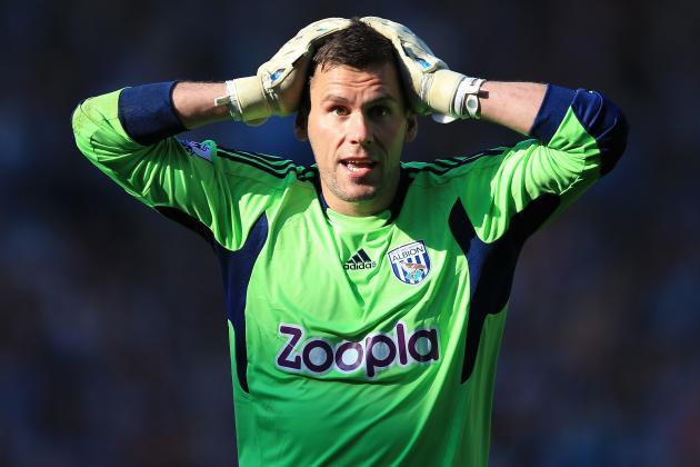West Brom Goalkeeper Ben Foster Proud to Finish in Premier Leagues Top Eight