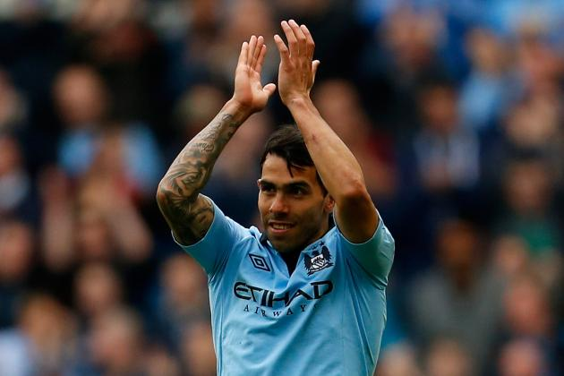 Juventus Keen on Manchester City Star Carlos Tevez