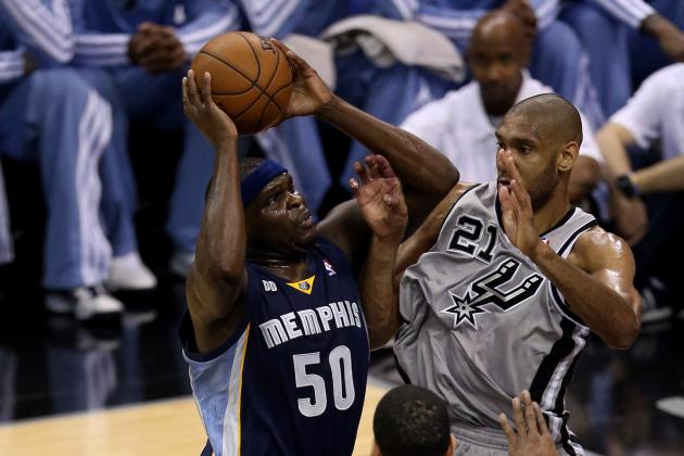 Zach Randolph Apologizes to Grizzlies for Game 1 Wreck