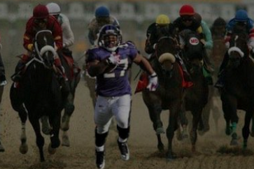 Ray Rice Ran in the Preakness Stakes