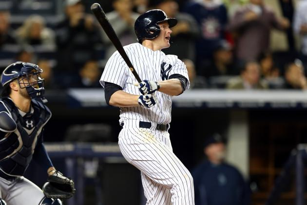 As Yankees Rely on Lyle Overbay, He Continues to Contribute