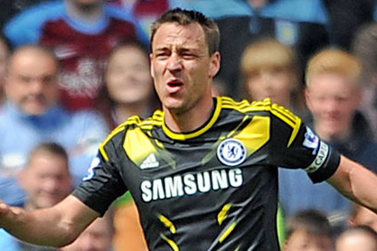 John Terry Ruled out of Chelseas Double-Header with Manchester City
