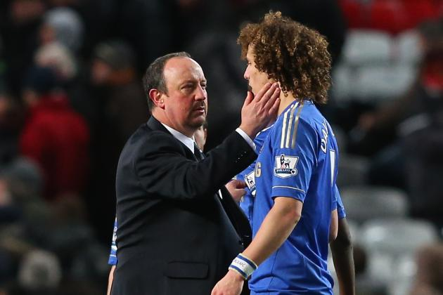 David Luiz Has Thanked Outgoing Chelsea Coach Rafa Benitez for His Help