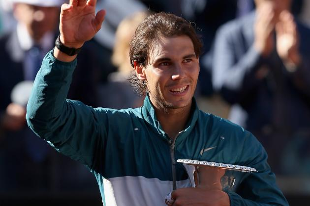 Nadal vs. Federer Italian Open 2013: Victory Sets Up Rafa for French Open Win