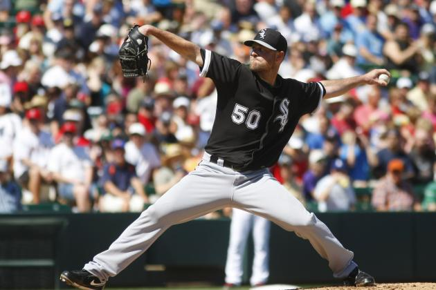 John Danks Could Be Cleared for Season Debut Friday