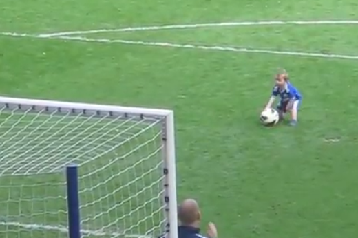 Chelsea Player's Adorable Son Adorably Scores Adorable Goal
