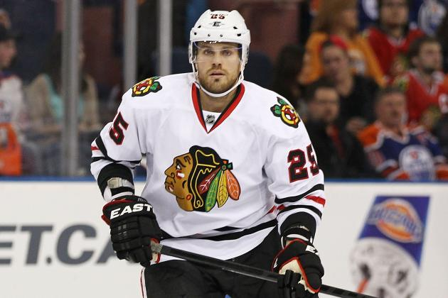 Chicago Blackhawks: Roster Tweaks for Game 3 vs. Detroit Red Wings