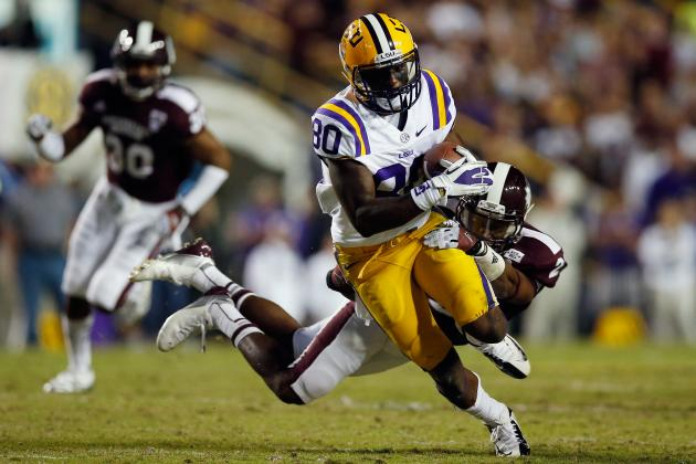LSU Football 2013: Tigers Receiving Corps Must Maximize Potential