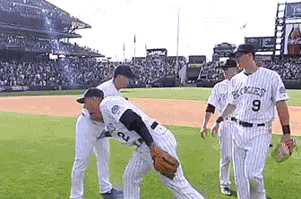 Watch: Tulo Gets Personal with Post-Game Handshake