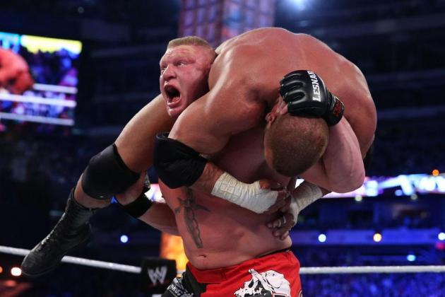 WWE Extreme Rules 2013: What's Next for Brock Lesnar After Win over Triple H?
