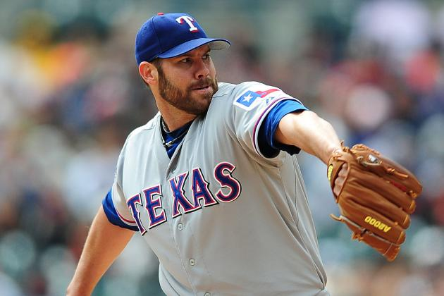 Colby Lewis Resumes Rehab Assignment