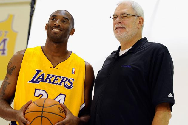 Kobe Asked Phil Jackson for Autograph When They First Met