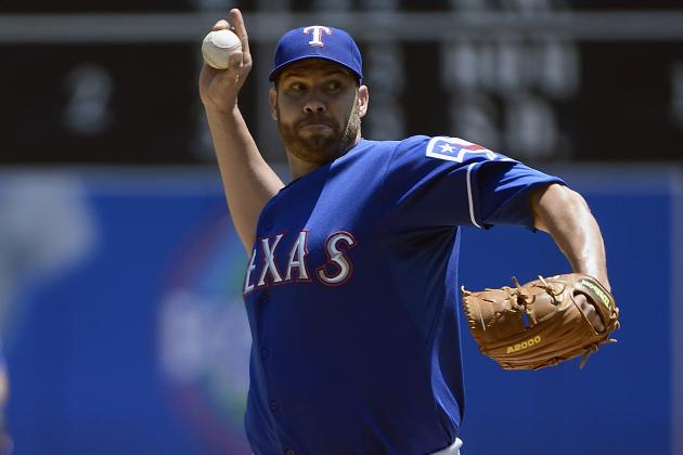 Rangers' Colby Lewis Wants More Velocity After Rehab Start