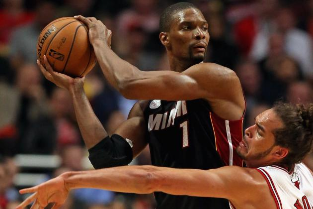 Chris Bosh Helps Makes Heat a Swat Team in Playoffs