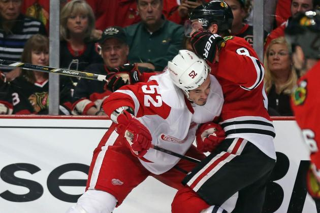 Playoffs Tonight: Blackhawks Look to 'Ramp Up Our Intensity' vs Red Wings